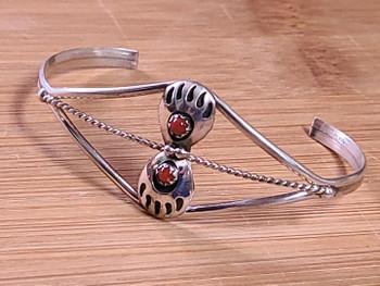 Navajo Sterling Silver Cuff Bracelet