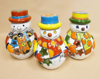 Assorted Talvera Snowman Luninaries