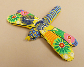 Mexican Hand Painted Dragonfly