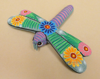 Southwestern Hand Painted Matte Dragonfly