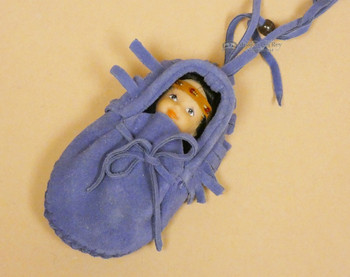 Moccasin Baby -Purple