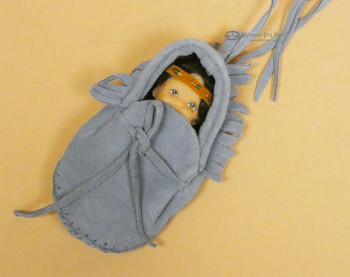 Moccasin Baby -Blue