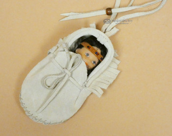 Moccasin Baby -Tan