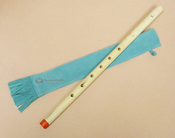 Bamboo Flute w/ Leather Case