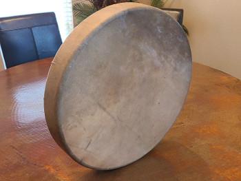 Stretched Elk Hide Cherokee Drum