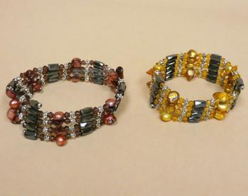 Fresh Water Pearl Magnetic Wrap Bracelets