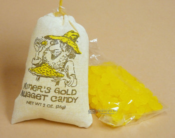 Miner's Gold Nugget Candy