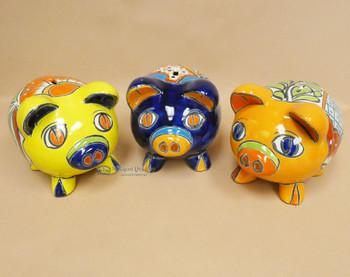 Assorted Talavera Piggy Banks