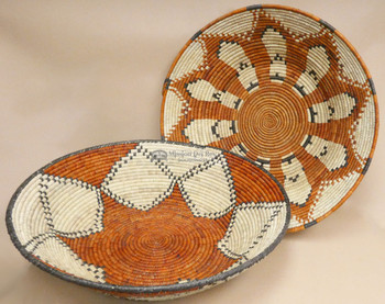 """Hand Coiled Baskets 28"""""""