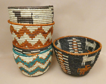 Hand Coiled Planter Baskets