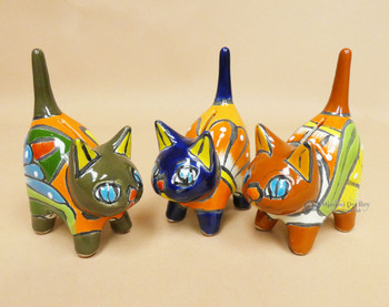 """Assorted Hand Painted Cat 5.75"""""""