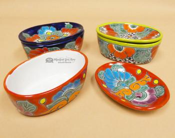 Assorted Hand Painted Talavera Soap Dish