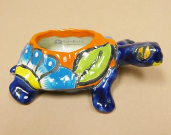 Hand Painted Talavera Turtle Planter
