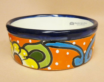 Traditional Hand Painted Talavera Planter Bowl