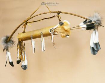 Antiqued Bow & Fox Face Quiver Set