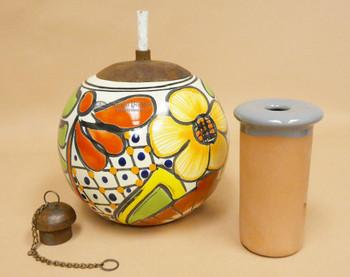 Southwestern Talavera Lantern Ball