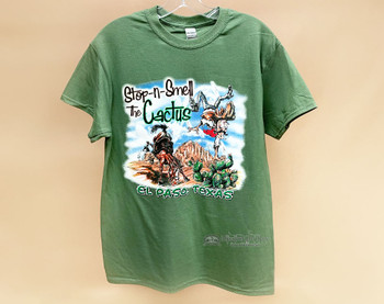 Smell The Cactus Souvenir T-Shirt