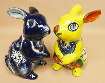 Assorted Talavera Sitting Rabbits