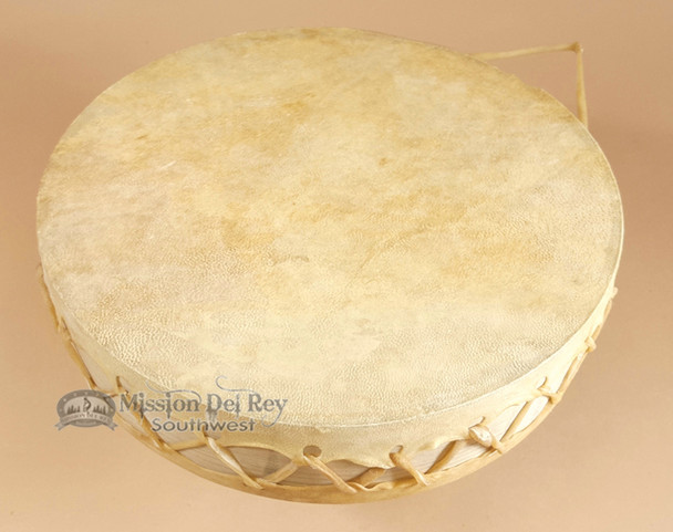 Rawhide Double Sided Tarahumara Drum - 10 inch dia.