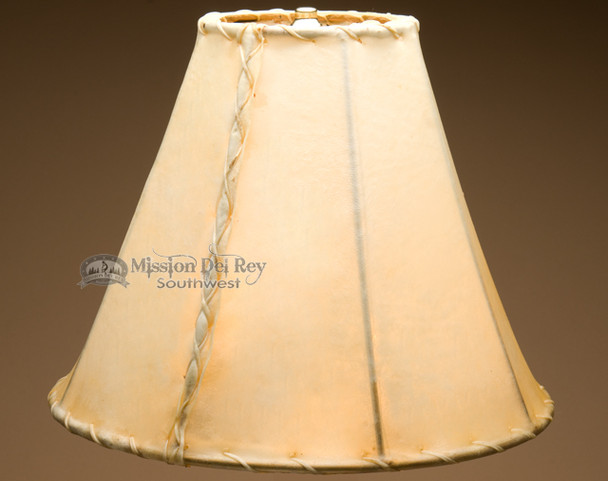Southwestern rawhide lamp shade - bell size. 14""