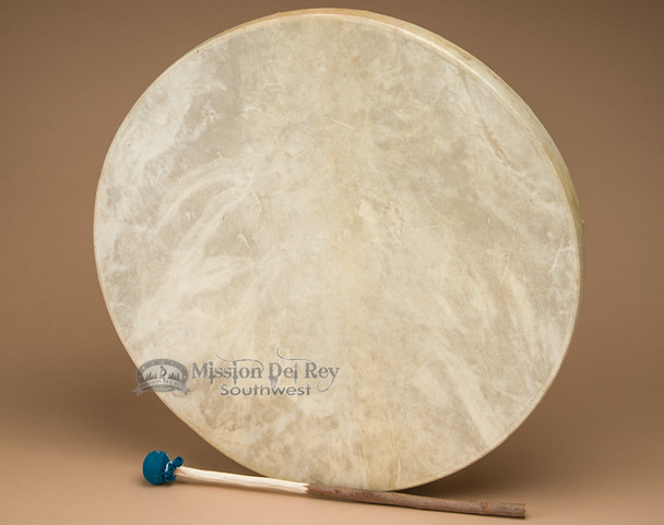 """20"""" single sided drum made with genuine rawhide."""