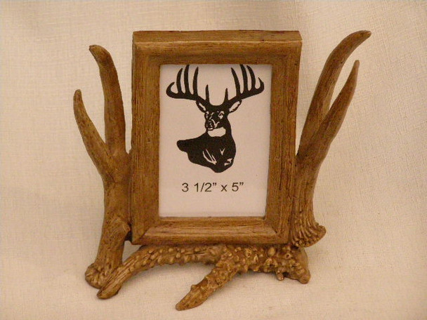 Faux Antler Picture Frame - 3.5x5