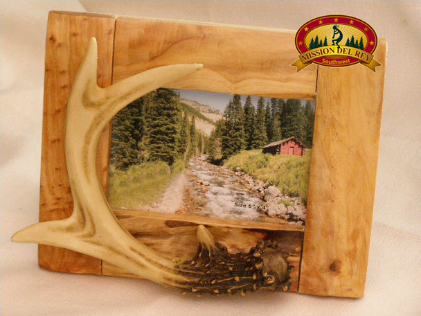 Faux Antler Picture Frame - 4x6