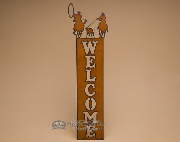 Team Roper Welcome Sign