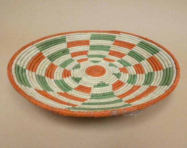 Handwoven Southwest Accent Basket