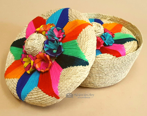 Two Piece Nested Basket Set