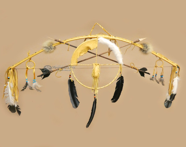 Medicine Wheel Bow and Arrow Set