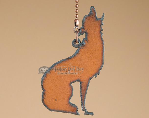 Southwest Metal Chainpull - Wolf