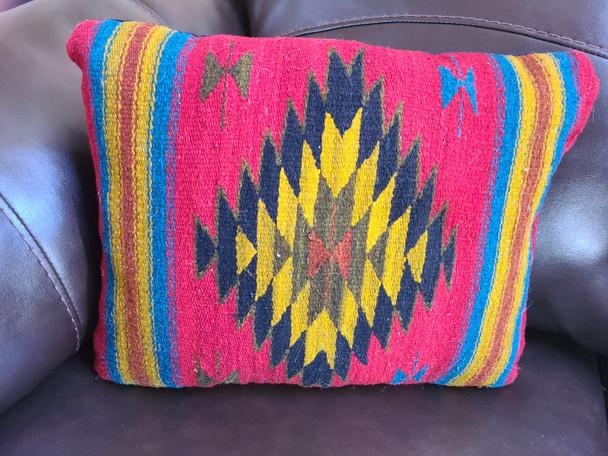 Hand Woven Wool Pillow
