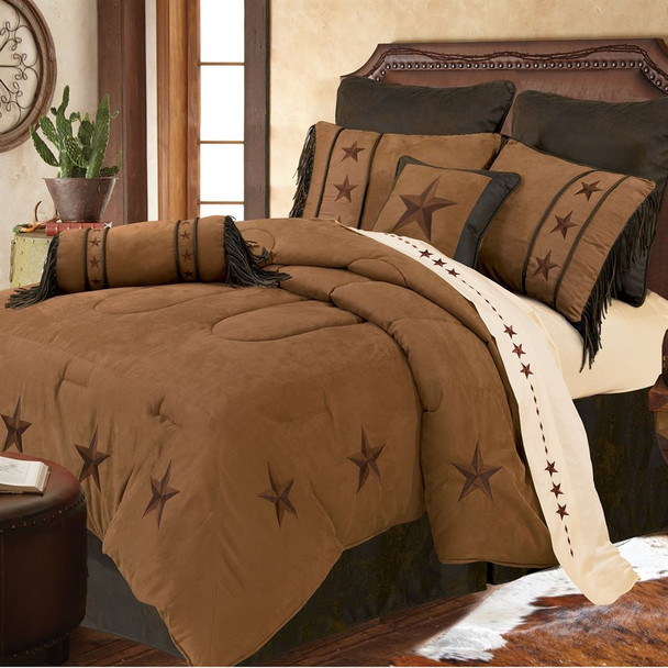 Laredo 5 pc. Comforter Set - sheets and Large shams not included.