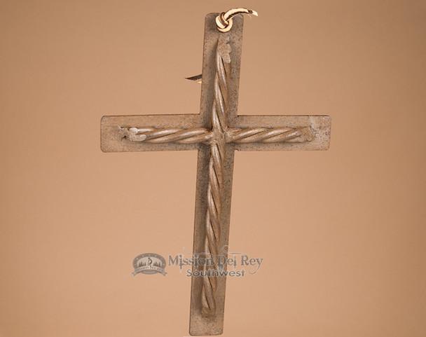Southwestern Handcrafted Metal Cross (67)