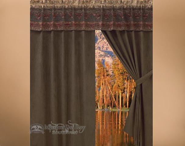 Del Sierra Designer Southwestern Curtains