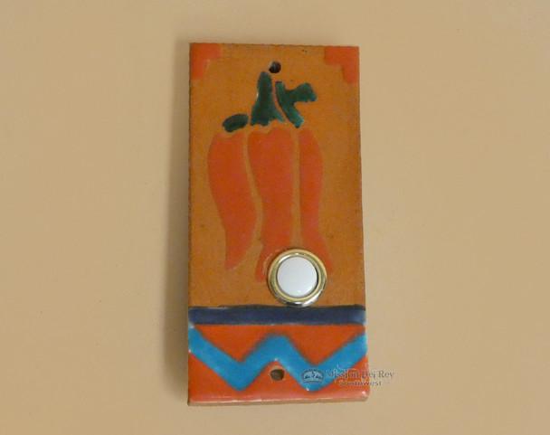 Saltillo Tile Doorbell -Chilli