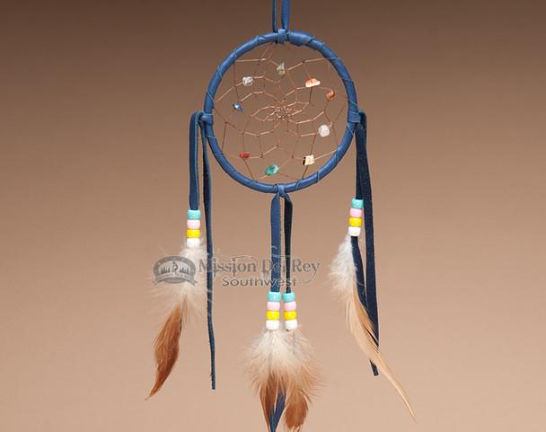 Native American Dream Catcher - Blue