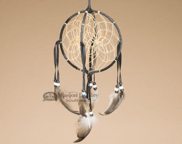 3D Native American Dreamcatcher - Black