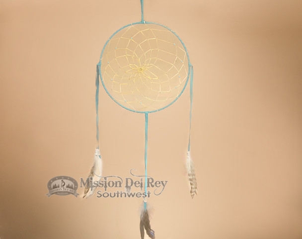 Native American Dreamcatcher -Turquoise
