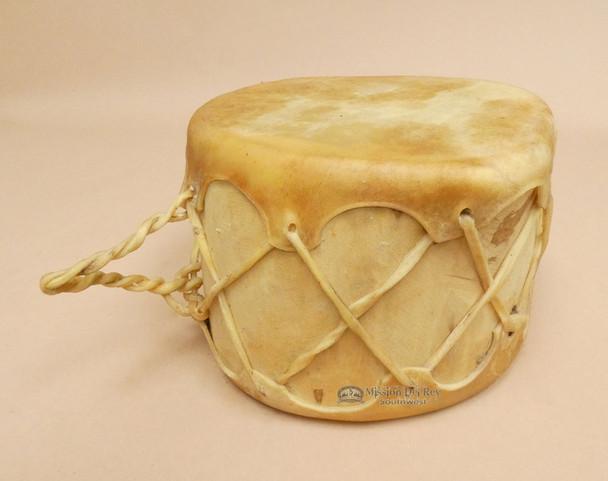 Native Aspen log drum with striker