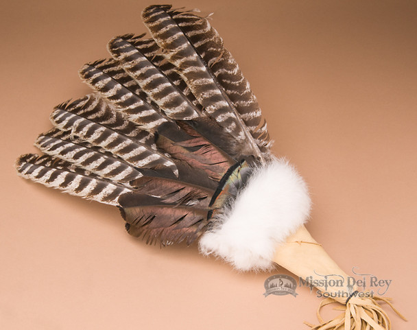 Sioux Turkey Feather Prayer Fan