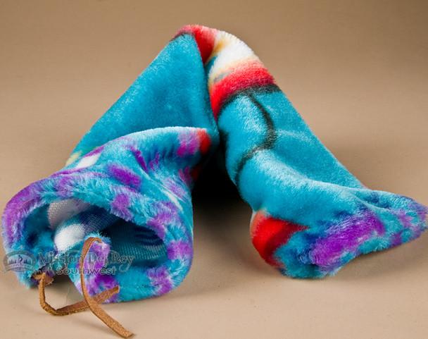 """Navajo Indian Flute Bag 20"""" -Fleece (27)"""