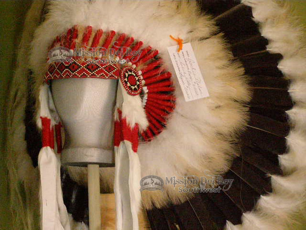 Navajo Indian Halo Warbonnet