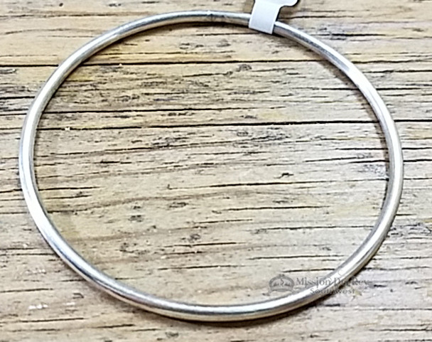 Native American Silver Bangle Bracelet -Navajo