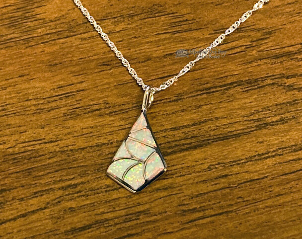 Native American Opal Necklace -Zuni