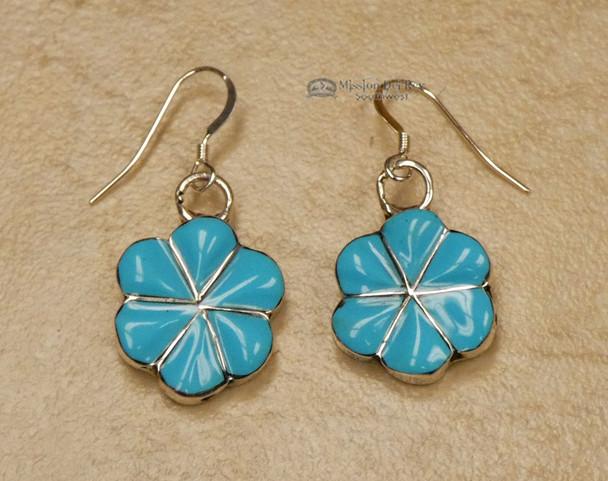 American Indian Silver Jewelry - Earrings