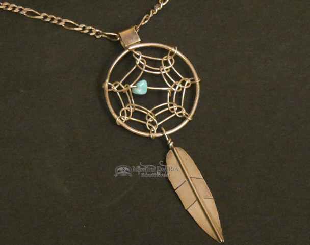 """Navajo Dream Catcher Necklace with 20"""" Chain"""