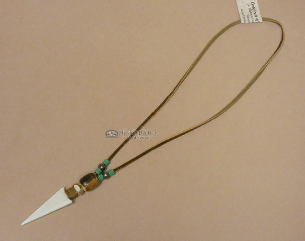 """Native American Navajo Arrowhead Necklace 18"""""""