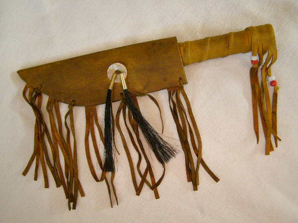 Navajo Decorative Bone Knife and Sheath